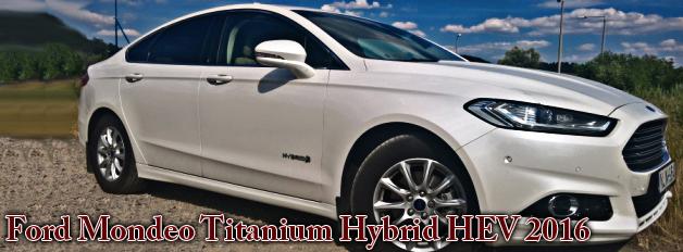 Ford Mondeo Titanium Hybrid HEV 2016
