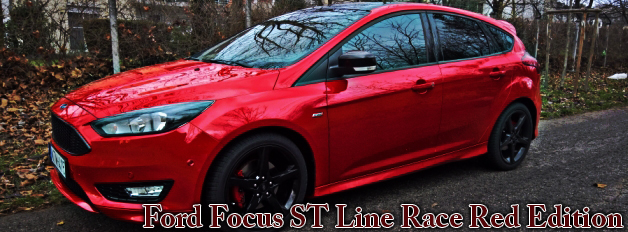 Ford Focus ST Line Race Red Edition 2016